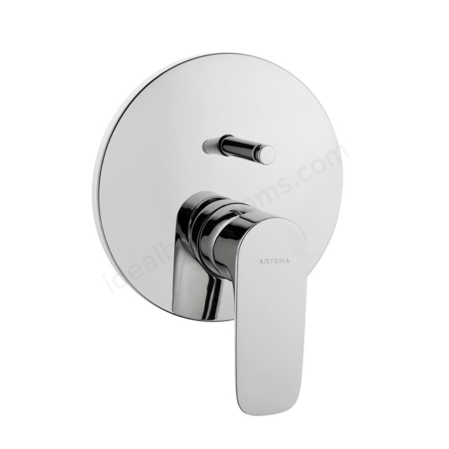 Vitra X-LINE Built In Bath Shower Mixer Tap, Exposed Part (Use with A41949VUK)