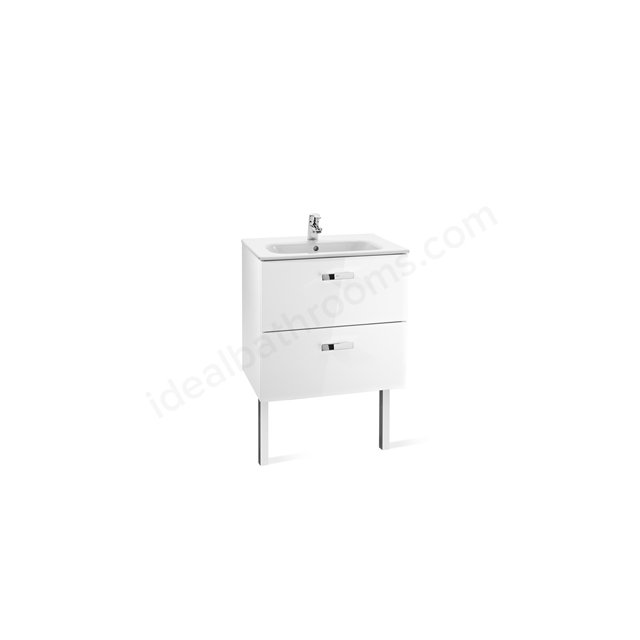 Roca VICTORIA Base Unit; 600mm Wide; White