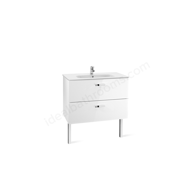 Roca VICTORIA Base Unit; 800mm Wide; White