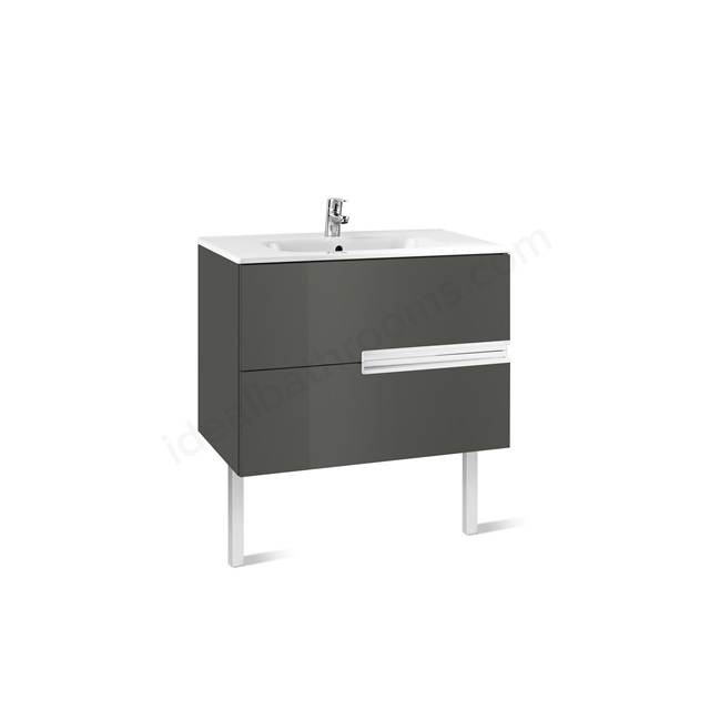 Roca VICTORIA N Base Unit; 800mm Wide; 2D Grey