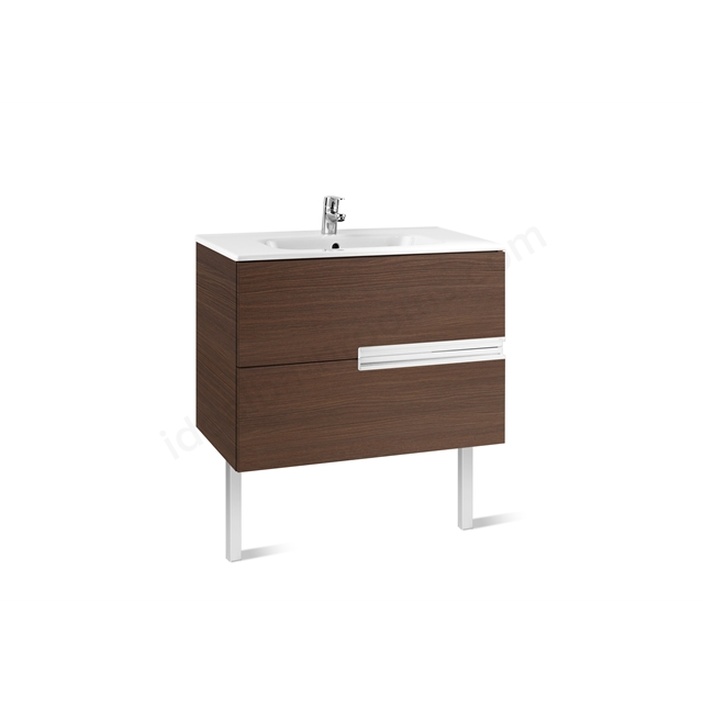 Roca VICTORIA N Base Unit; 800mm Wide; 2D Wenge