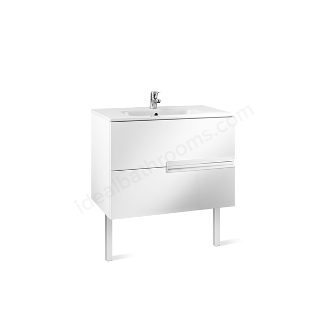 Roca VICTORIA N Base Unit; 800mm Wide; 2D White