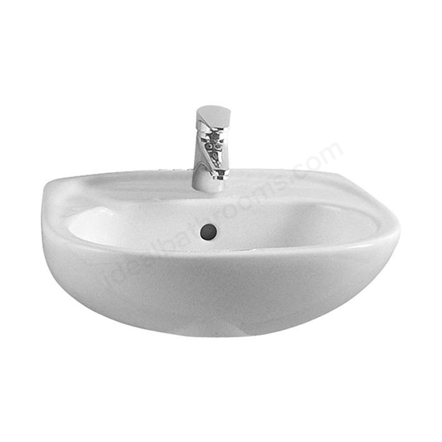 Vitra Milton 450mm In-Countertop Basin 1 Tap Hole