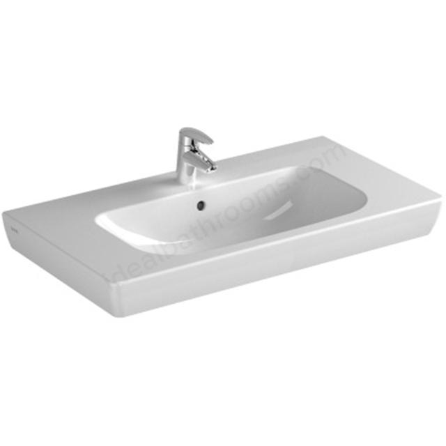 Vitra S20In-Countertop Basin 1 Tap Hole