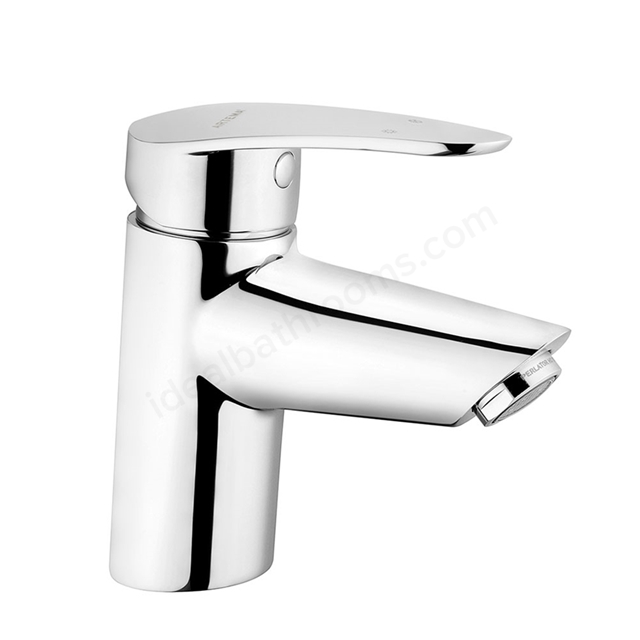 Vitra DYNAMIC Basin Mixer Tap, no Waste, 1 Tap Hole, Chrome