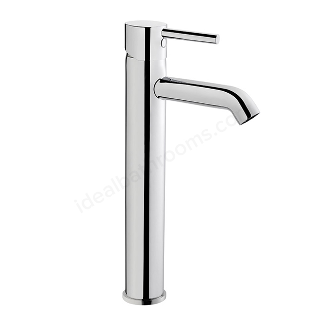 Vitra MINIMAX Tall Basin Mixer Tap, 1 Tap Hole, Chrome
