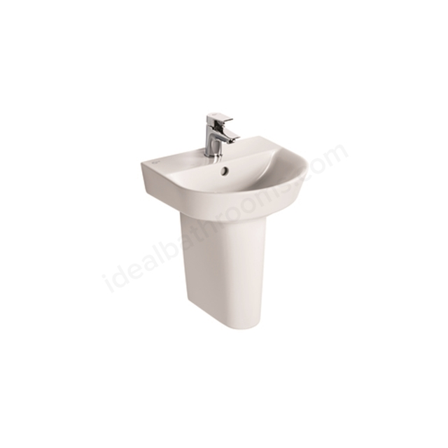 Ideal Standard Concept Air Arc 40Cm Handrinse Basin - One Taphole