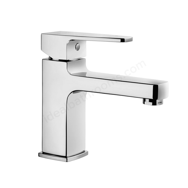 Vitra Q-LINE Basin Mixer Tap, no Waste, 1 Tap Hole, Chrome