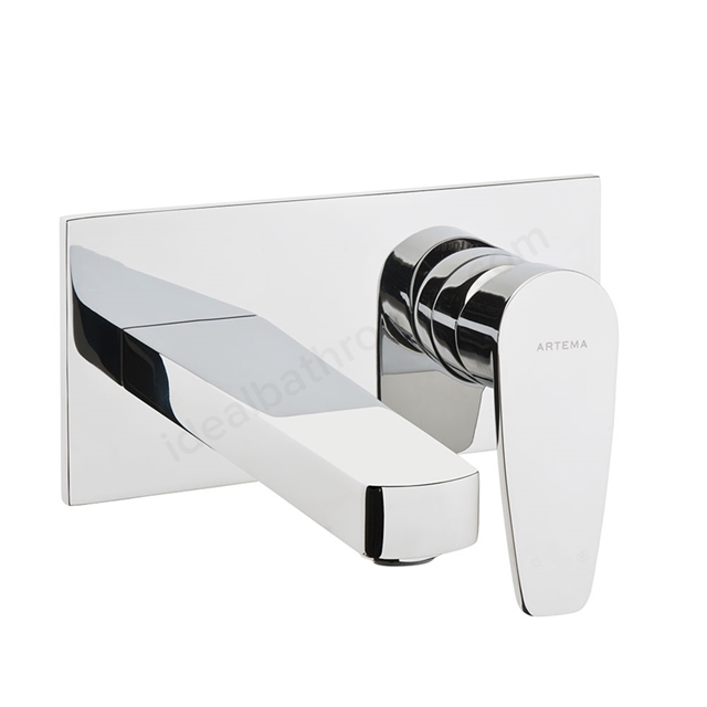 Vitra Q-LINE Built In Basin Mixer Tap, Exposed Part (Use with A42230VUK)