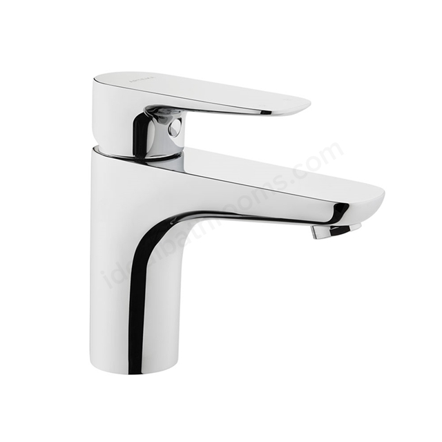 Vitra X-LINE Basin Mixer Tap, no Waste, 1 Tap Hole, Chrome