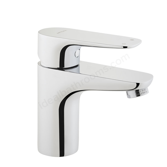 Vitra X-LINE Short Basin Mixer Tap, no Waste, 1 Tap Hole, Chrome
