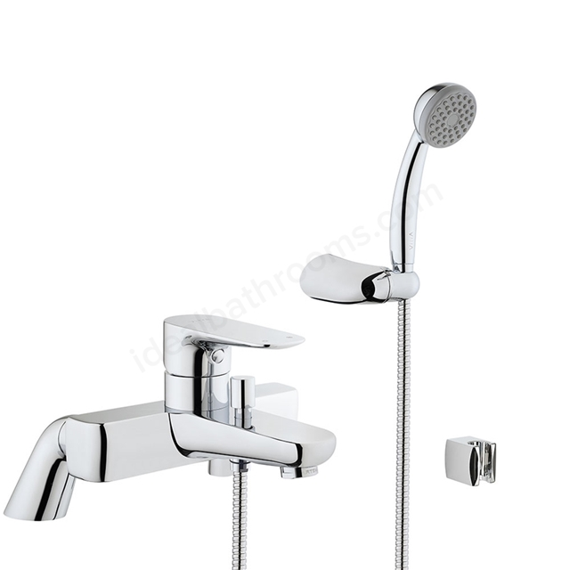 Vitra X-LINE Bath Shower Mixer Tap + Shower Kit