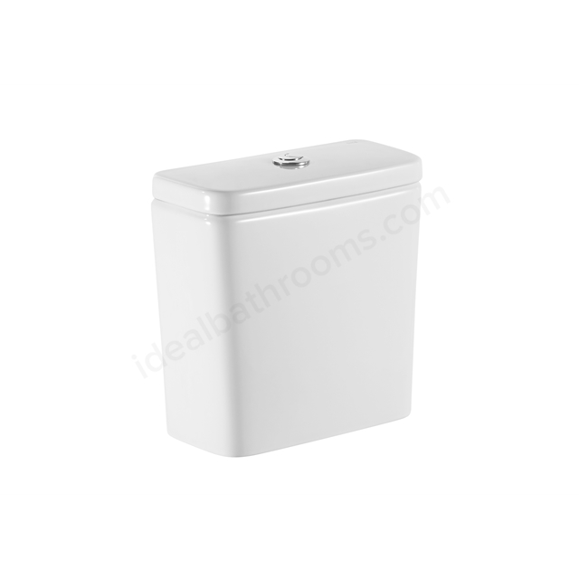 Roca DEBBA Eco Close Coupled Cistern for Back to Wall Pan; 4.5/3 Litre Flush; White