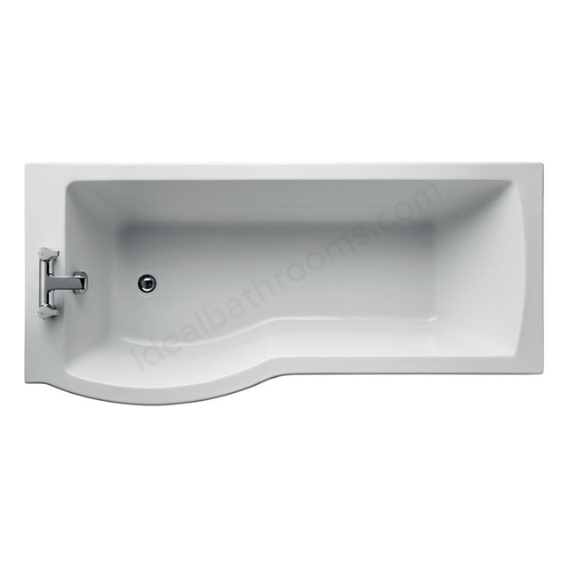 Ideal Standard TEMPO ARC 170 SHR BATH LH NTH              IFP+ WHITE