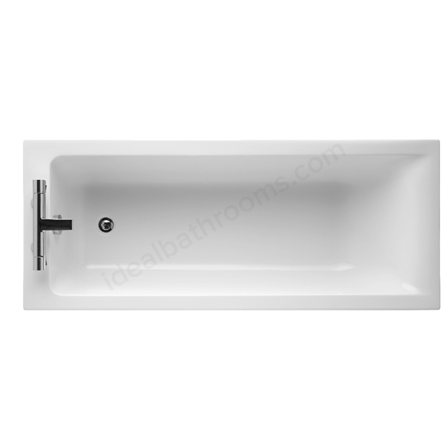 Ideal Standard Idealform+ Single Ended; Concept; No Tap Hole White 1700 x 700mm Bath
