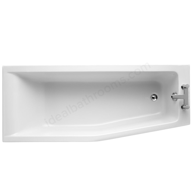Ideal Standard Idealform+ Spacemaker Shower Bath; Concept; No Tap Hole; White 1700 x 700mm Right Hand