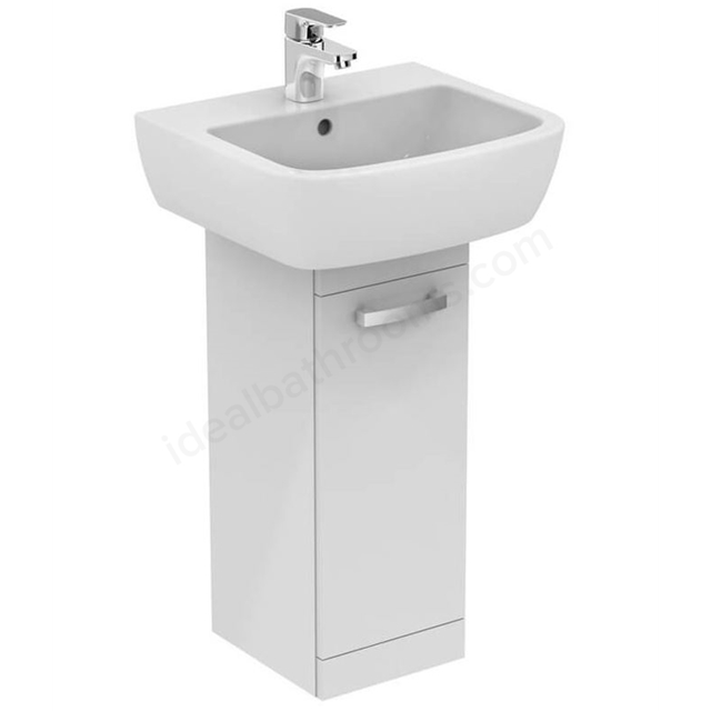 Ideal Standard Tempo 550mm Pedestal Unit and Basin Pack -  White