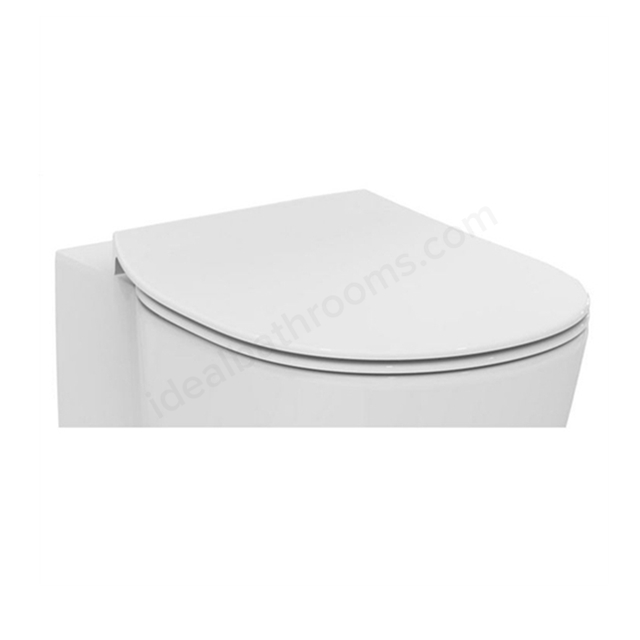 Ideal Standard Slim; Soft Close; Concept;  White Toilet Seat & Cover