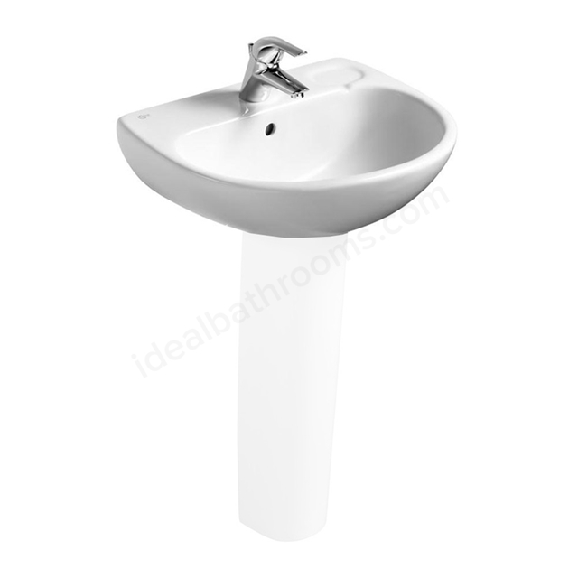 Ideal Standard STUDIO Washbasin, 1 Tap Hole, 560mm, White