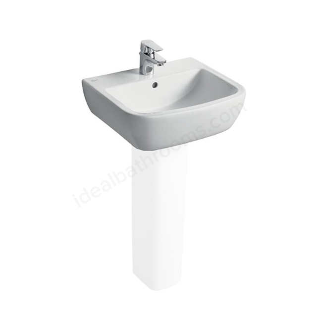 Ideal Standard TEMPO Washbasin; 1 Tap Hole; 500mm; White