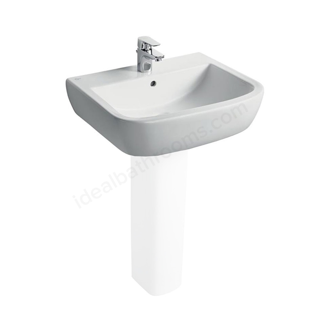 Ideal Standard TEMPO Washbasin; 1 Tap Hole; 600mm; White