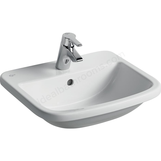 Ideal Standard TEMPO Countertop Basin; 1 Tap Hole; 500mm; White