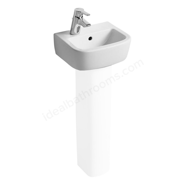 Ideal Standard TEMPO Handrinse Basin; Left Handed 1 Tap Hole; 350mm; White