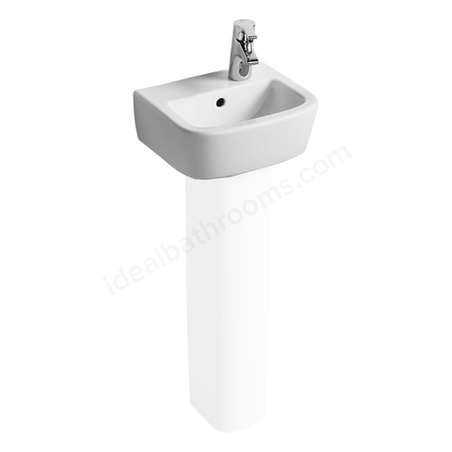 Ideal Standard TEMPO Handrinse Basin; Right Handed 1 Tap Hole; 350mm; White