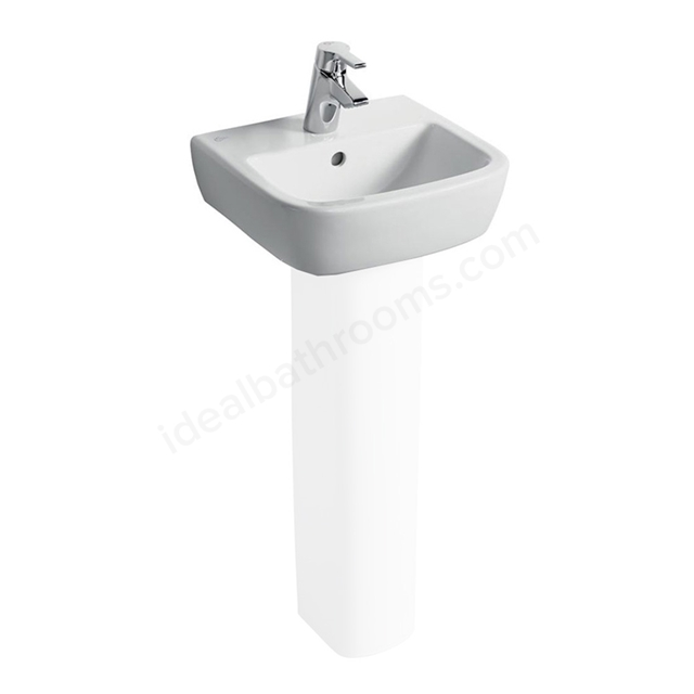 Ideal Standard TEMPO Handrinse Basin; 1 Tap Hole; 400mm; White