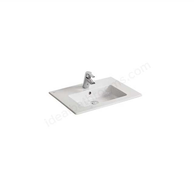 Ideal Standard TEMPO Vanity Basin; 1 Tap Hole; 610mm; White