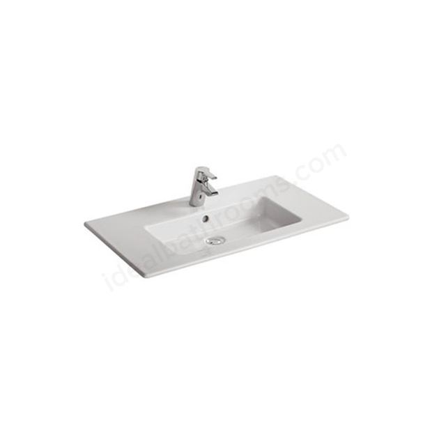 Ideal Standard TEMPO Vanity Basin; 1 Tap Hole; 815mm; White