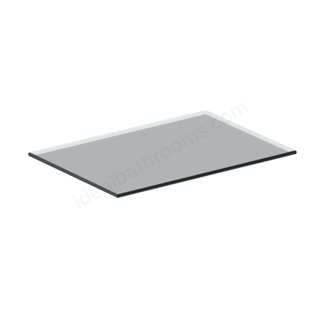 Ideal Standard 300mm Glass Top Add On Unit - Gloss Grey