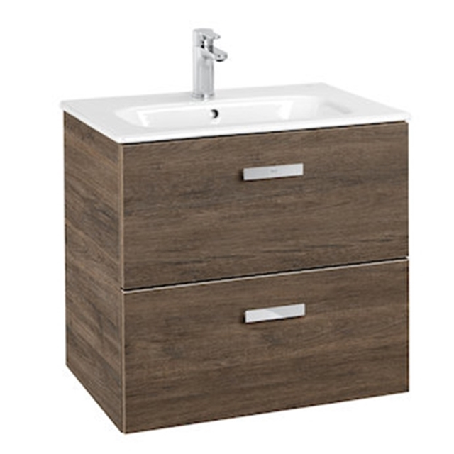 Roca Victoria Basic Base Unit 600 X 460 Birch 3 Drawers