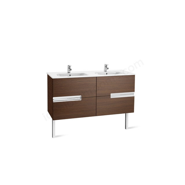 Roca VICTORIA N Base Unit; Left Handed; 600mm Wide; 2D Wenge