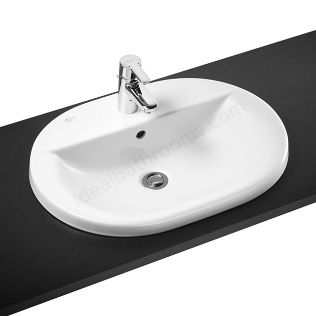 Ideal Standard Concept 620mm Washbasin 1 Tap Hole