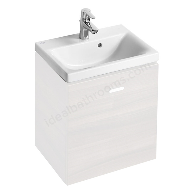 Ideal Standard CONCEPT SPACE Washbasin; 1 Tap Hole; 550mm; White