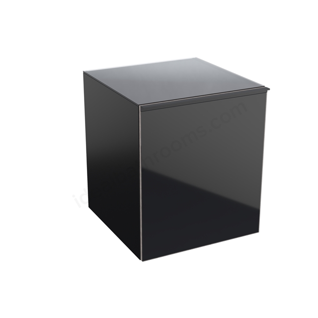 Geberit Acanto 450mm Low Side Unit Black