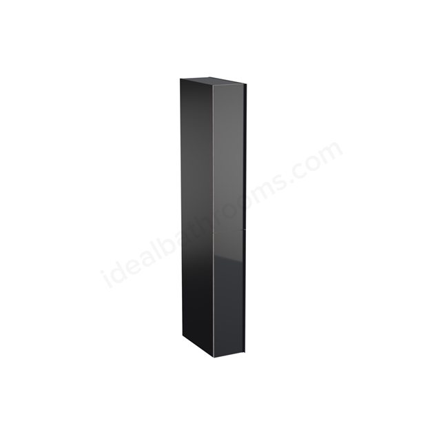Geberit Acanto 1730mm Tall Divider Unit Black