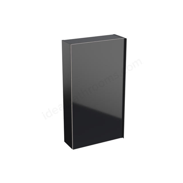 Geberit Acanto 450mm Upper Side Unit Black