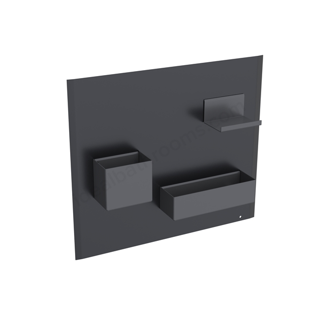 Geberit Acanto Magnetic Wall + Smart Storage Black