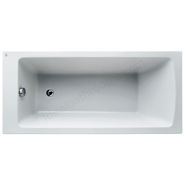 Ideal Standard Tempo White Arc 1500x700mm Idealform Plus+ Rectangular Bath