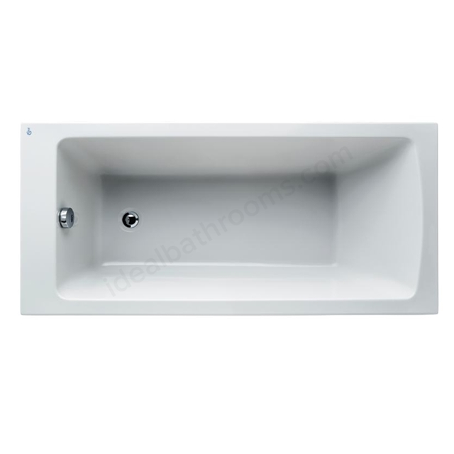 Ideal Standard Tempo White Arc 1500x700mm Idealform Plus+ Rectangular Bath; No Legs