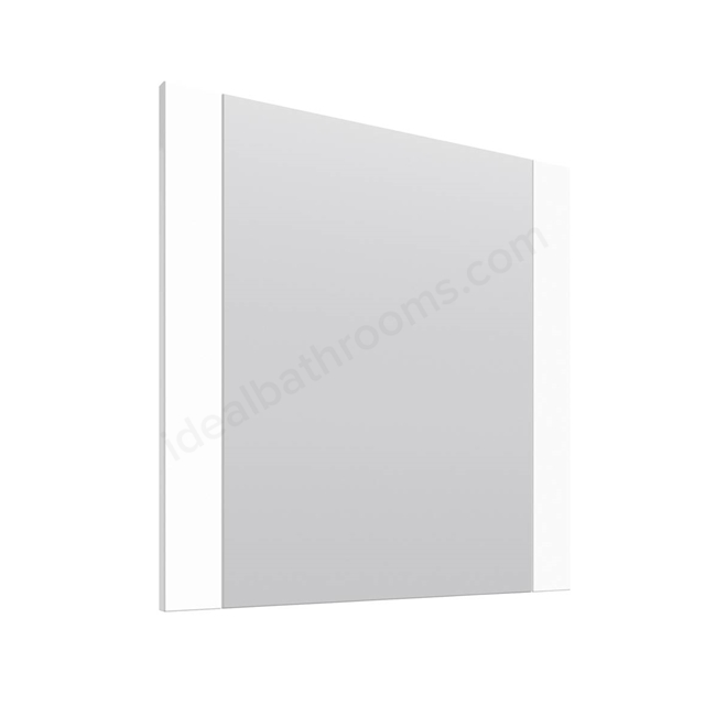 Essential VERMONT Bathroom Mirror; Rectangular; 600x600mm; White