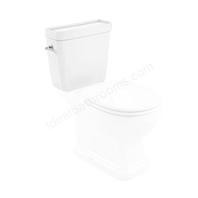 Roca Carmen Close-Coupled Cistern - 4.5/3 Litre Dual Flush