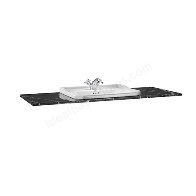 Roca Carmen Countertop 1300mm Marquina Black