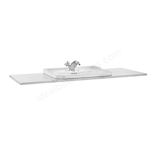 Roca Carmen Countertop 1300mm Venato White