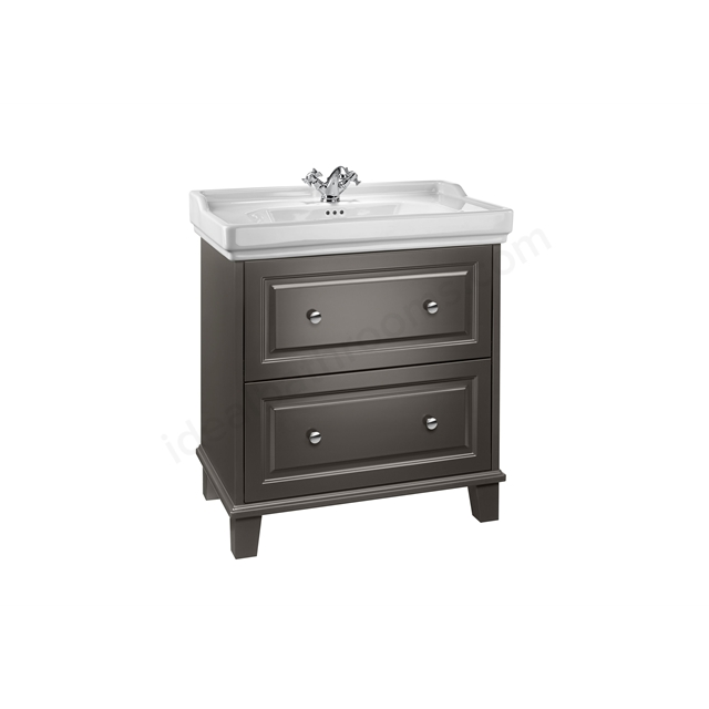 Roca Carmen Vanity 800mm Base Unit  - Anthracite Satin