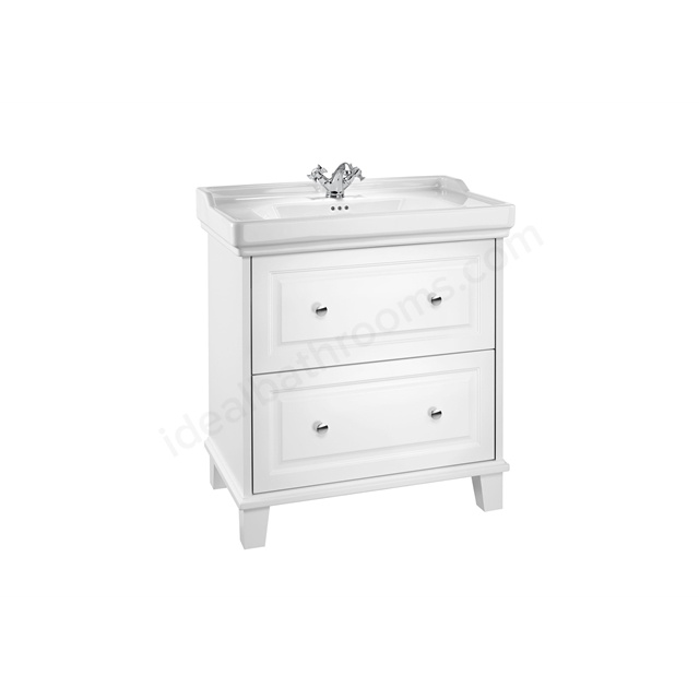 Roca Carmen Vanity 800mm Base Unit -  White Satin