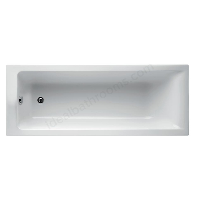 Ideal Standard Concept 180 X 70Cm Idealform Plus+ Rectangular Bath - No Tapholes