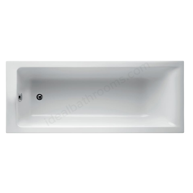 Ideal Standard Concept 180 X 80Cm  Idealform Rectangular Bath - No Tapholes
